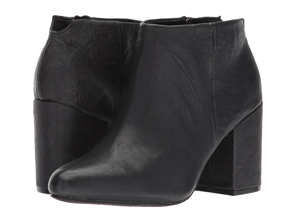 Me Too Zia (Black Crinkle Leather) Women