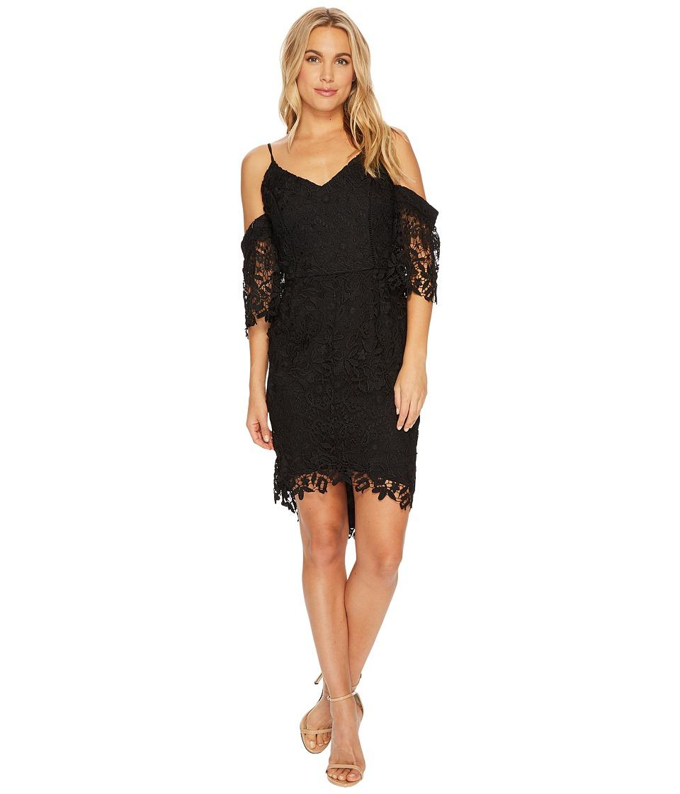 Adelyn Rae Krista High-Low Sheath Dress (Black) Women