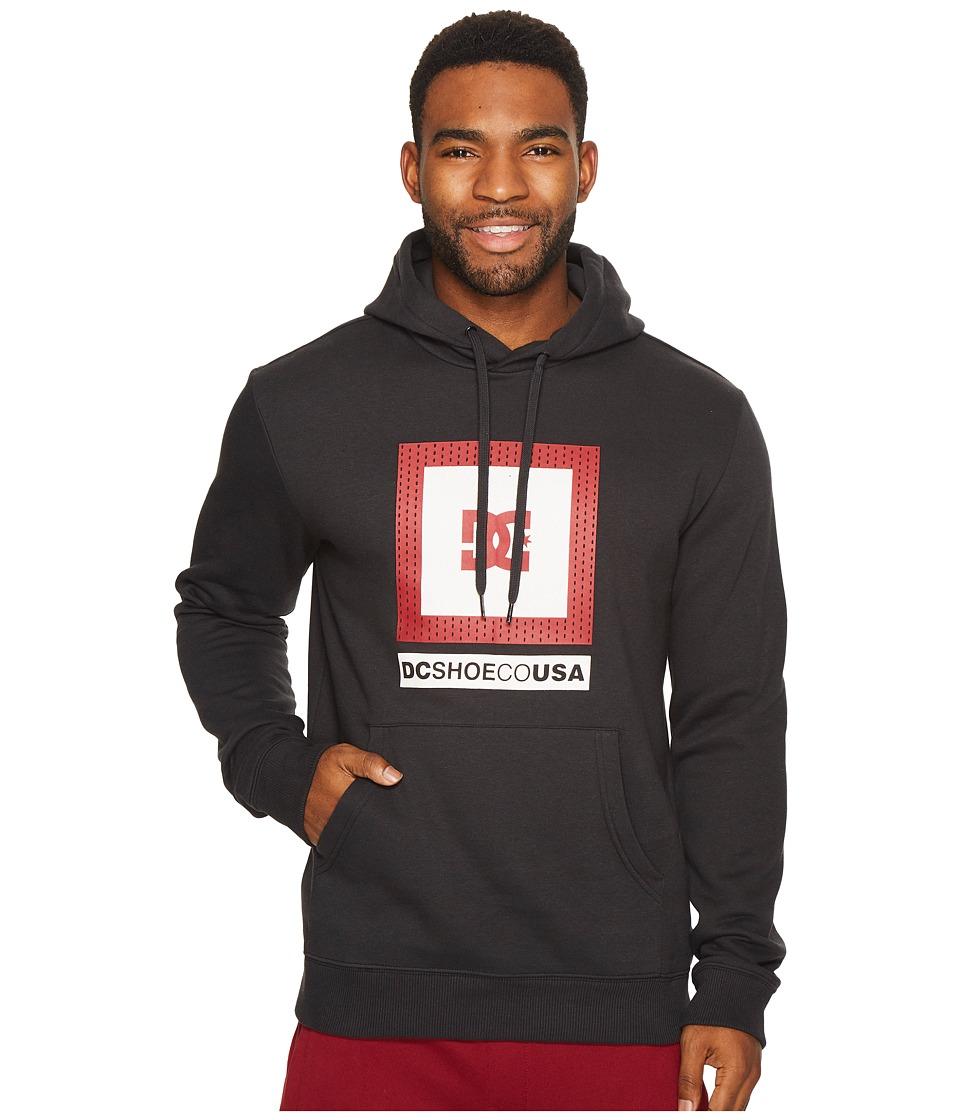 DC - Attitude Pullover Hoodie (Black) Men's Clothing