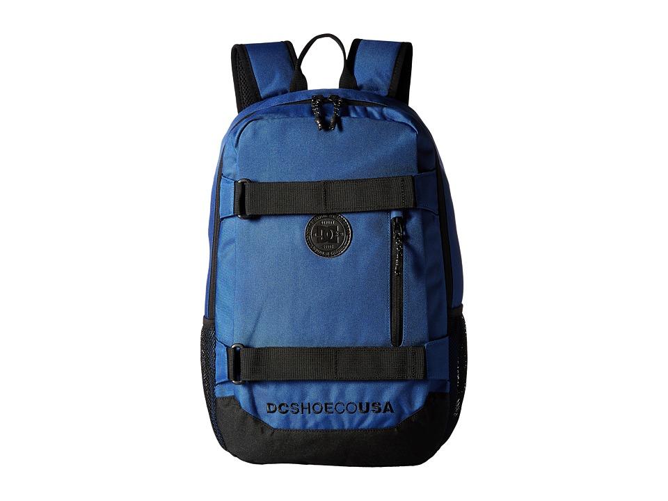 DC - Clocked (Washed Indigo) Backpack Bags