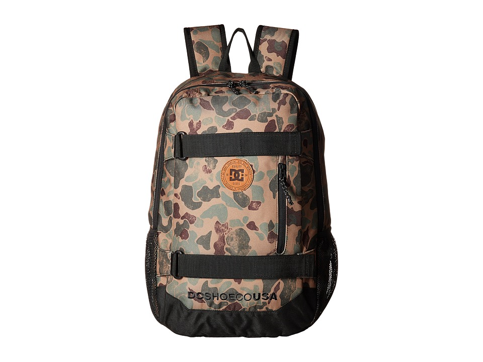 DC - Clocked (Duck Camo) Backpack Bags