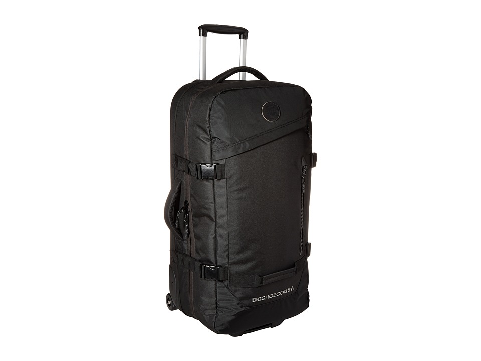 DC - Forager 83L Large Wheeled Suitcase (Black) Backpack Bags