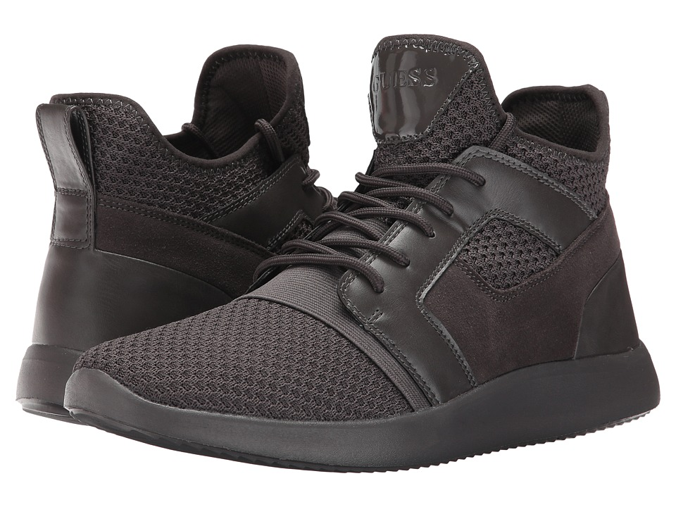 GUESS - Caleb (Grey Synthetic) Men's Shoes
