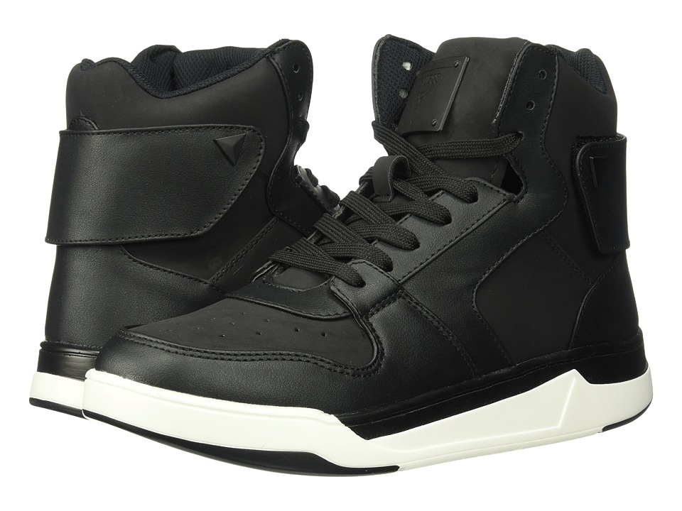 GUESS - Whalen (Black Synthetic) Men's Shoes