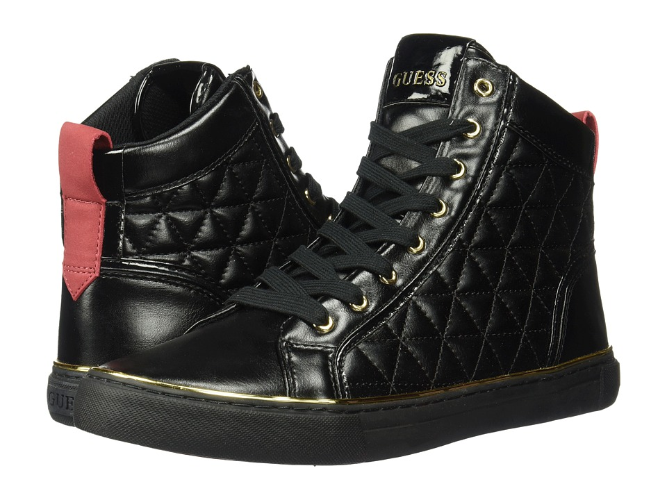 GUESS Melo (Black Synthetic) Men
