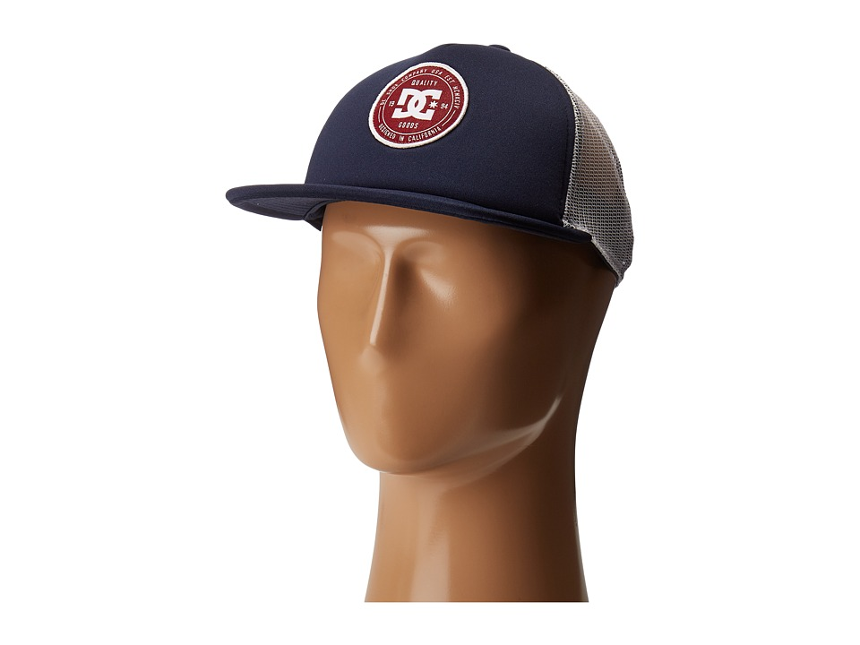 DC - Harlenson Trucker Hat (Dark Indigo) Caps