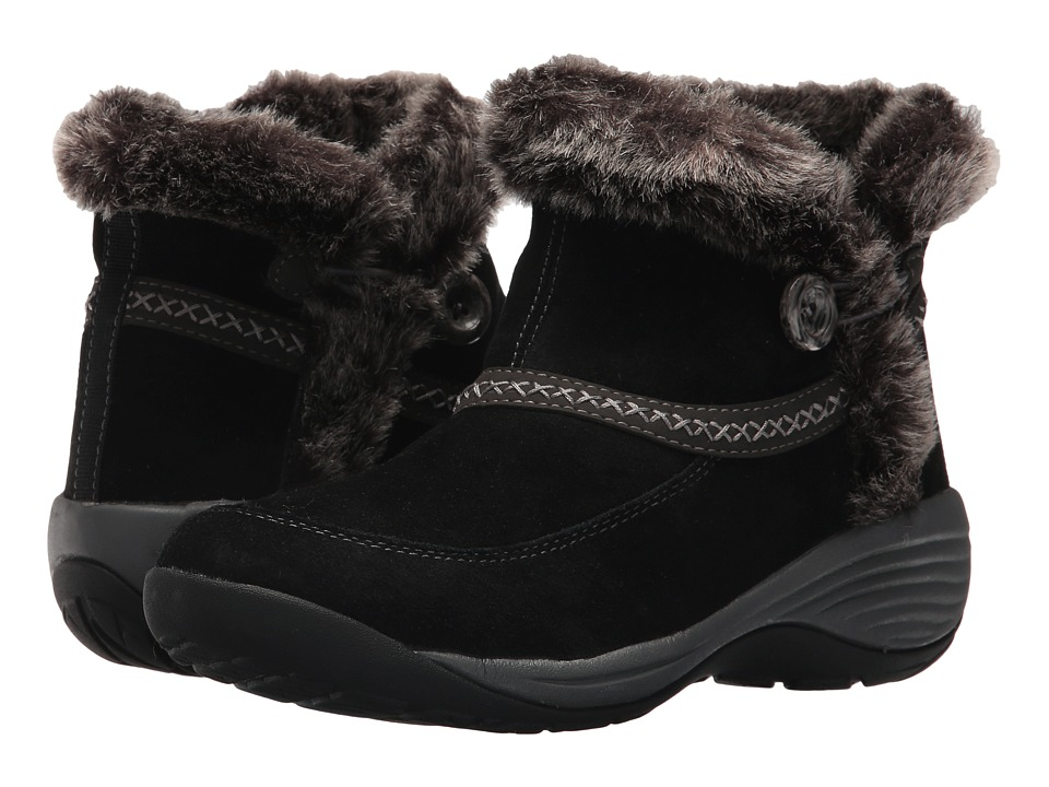 Easy Spirit Icerink (Black Multi Suede) Women