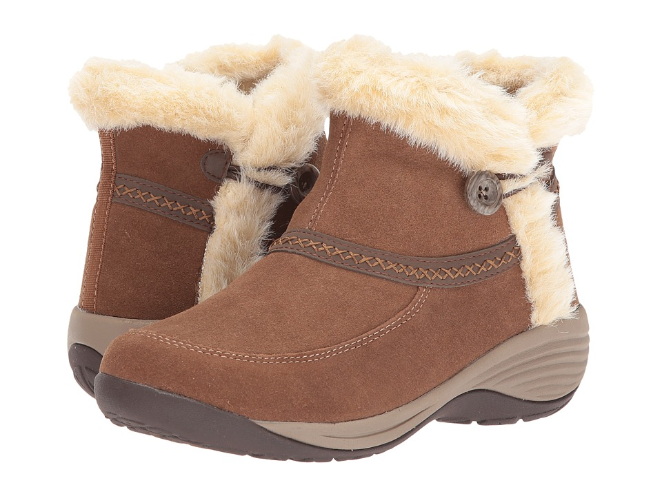 Easy Spirit Icerink (Dark Natural Multi Suede) Women
