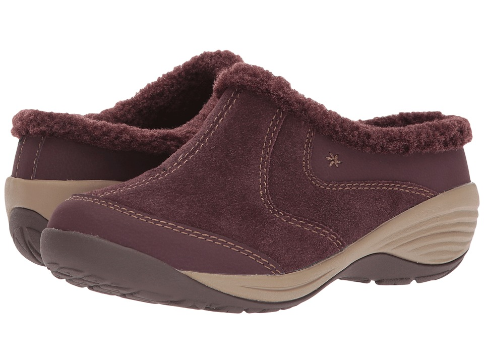 Easy Spirit Inglefur (Wine/Wine Suede) Women