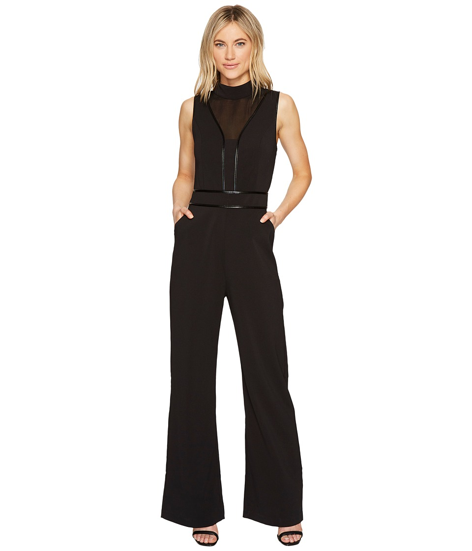 Adelyn Rae - Gayle Jumpsuit (Black) Women's Jumpsuit & Rompers One Piece