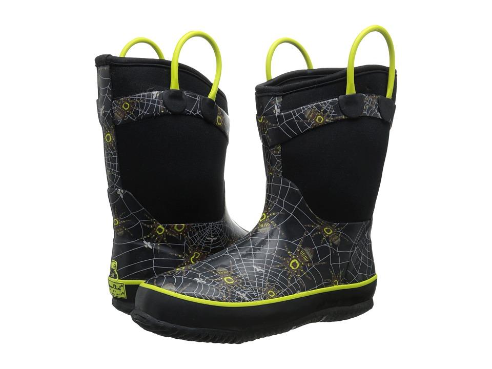 Western Chief Kids - Spider Prey Neoprene Boot (Toddler/Little Kid/Big Kid) (Black) Boys Shoes