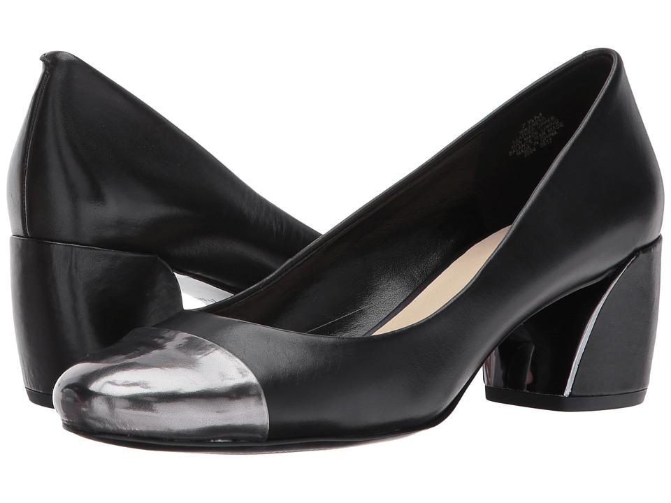 Nine West Jineya (Black/Pewter Leather 1) Women
