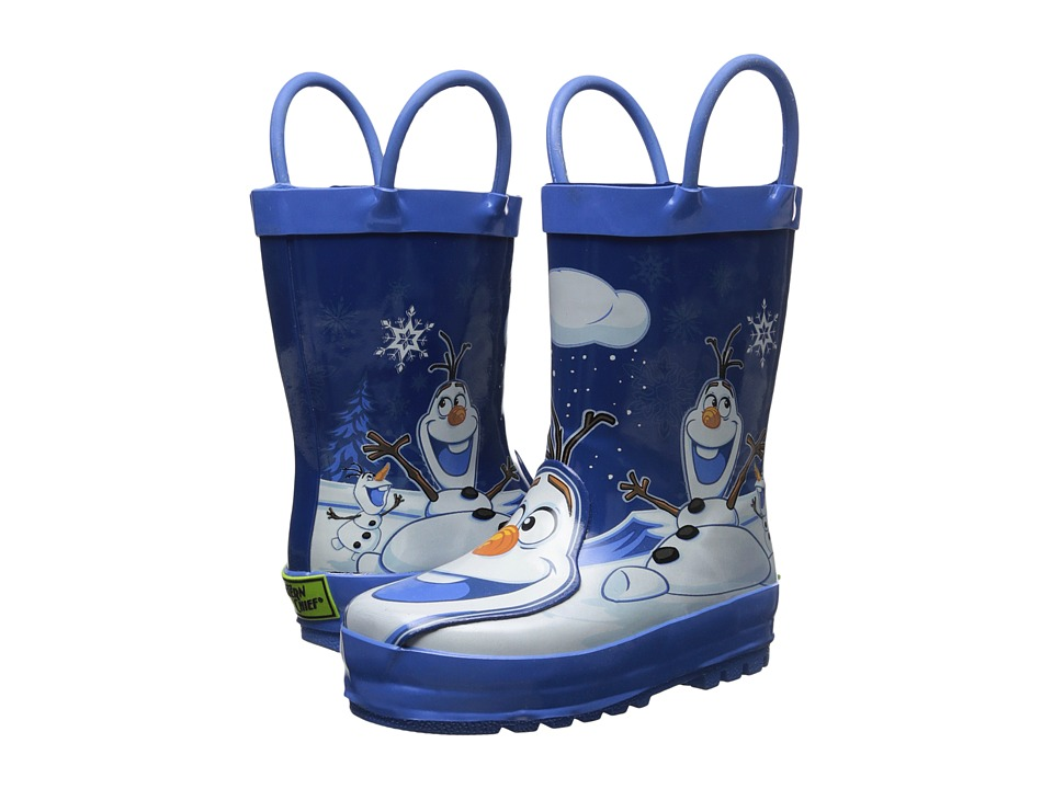 Western Chief Kids - Frozen Olaf Rain Boot (Toddler/Little Kid/Big Kid) (Blue) Kids Shoes