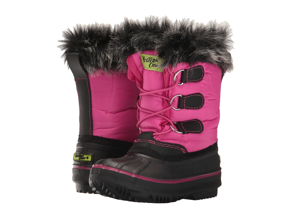 Western Chief Kids - Arcterra Winter Boot (Toddler) (Pink) Girls Shoes