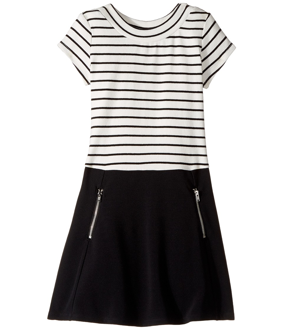 Us Angels - Cap Sleeve Scoop Neck Dress (Toddler/Little Kids) (Black) Girl's Dress