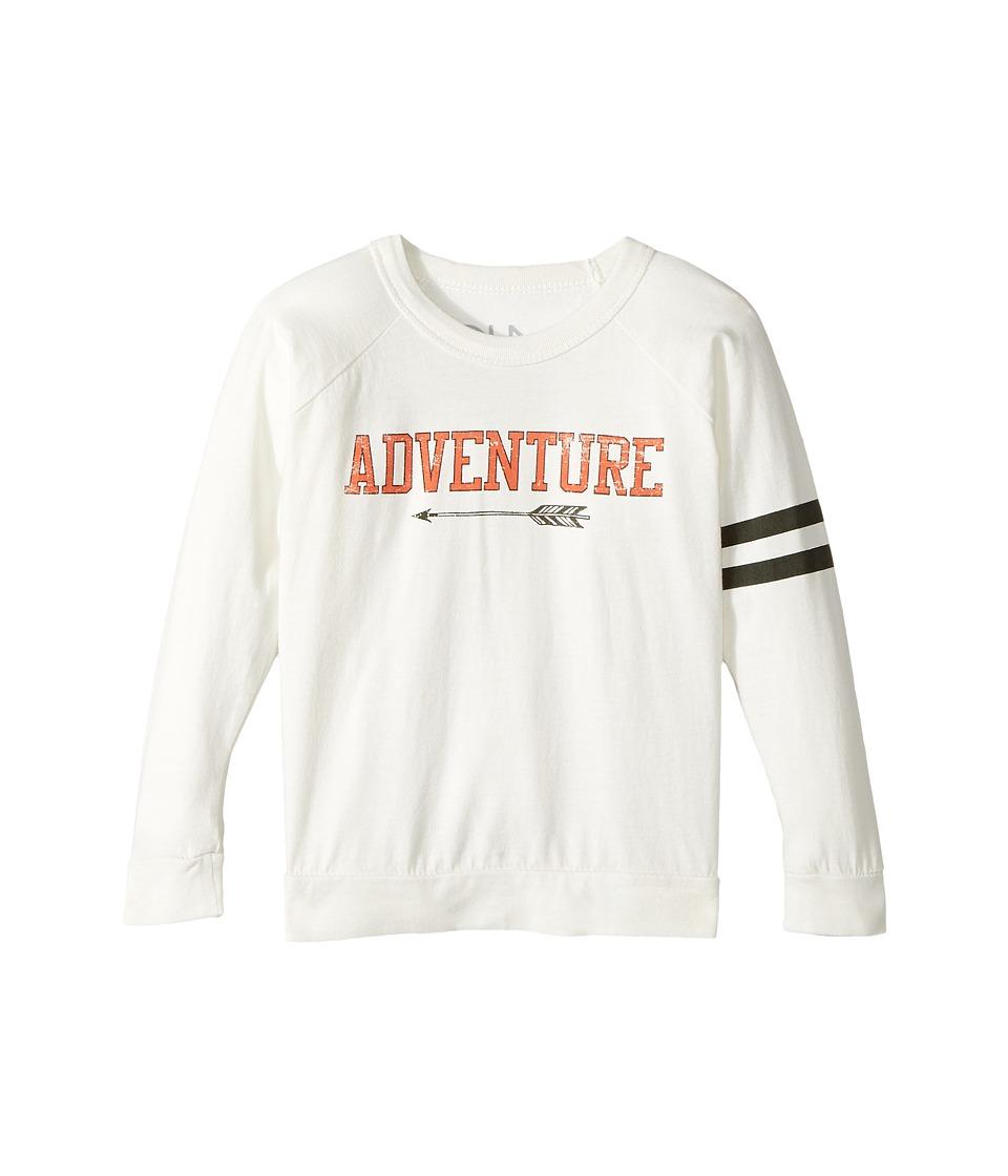 Chaser Kids - Cotton Long Sleeve Raglan T-Shirt (Toddler/Little Kids) (Adventure/Salt) Boy's T Shirt