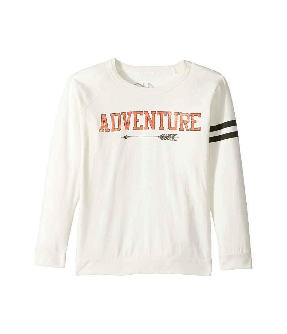 Chaser Kids - Cotton Long Sleeve Raglan T-Shirt (Little Kids/Big Kids) (Adventure/Salt) Boy's T Shirt