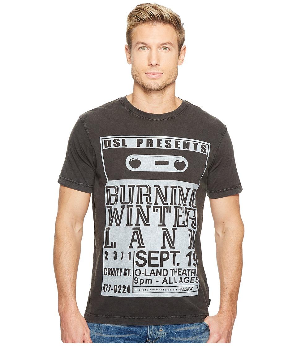 Diesel - T-Joe-QJ T-Shirt (Black) Men's T Shirt