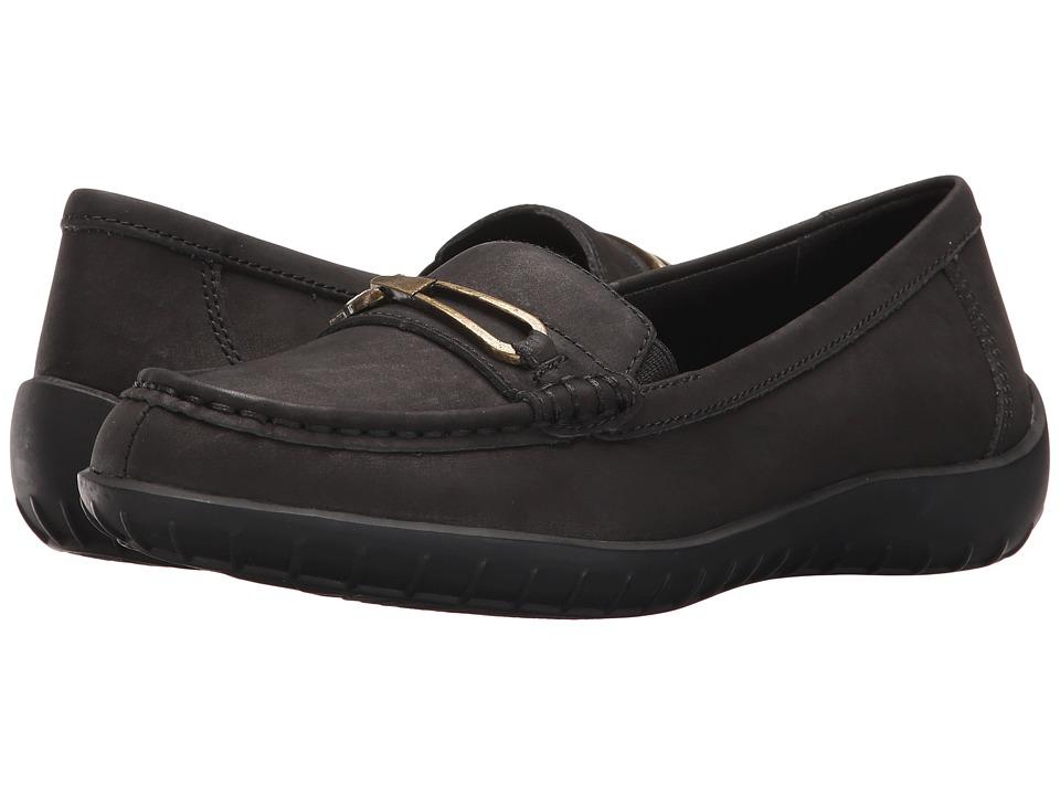 Walking Cradles - Clara (Black Nubuck) Women's Shoes