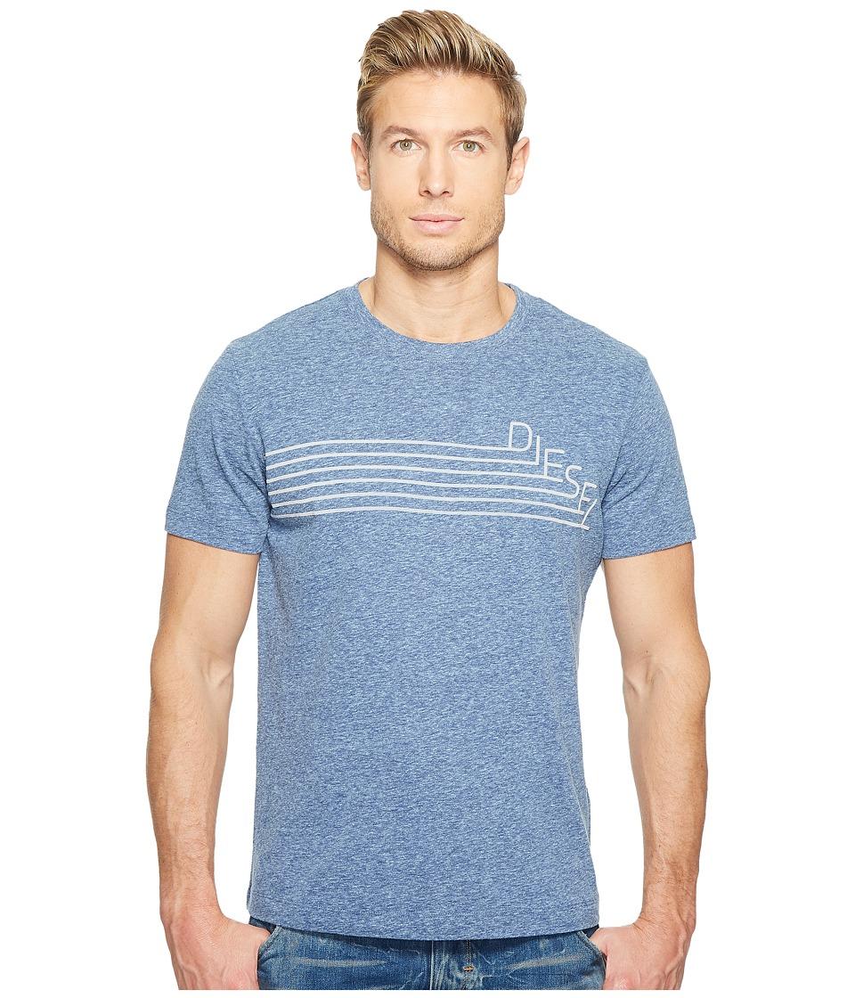Diesel - T-Joe-QF T-Shirt (Blue Star) Men's T Shirt