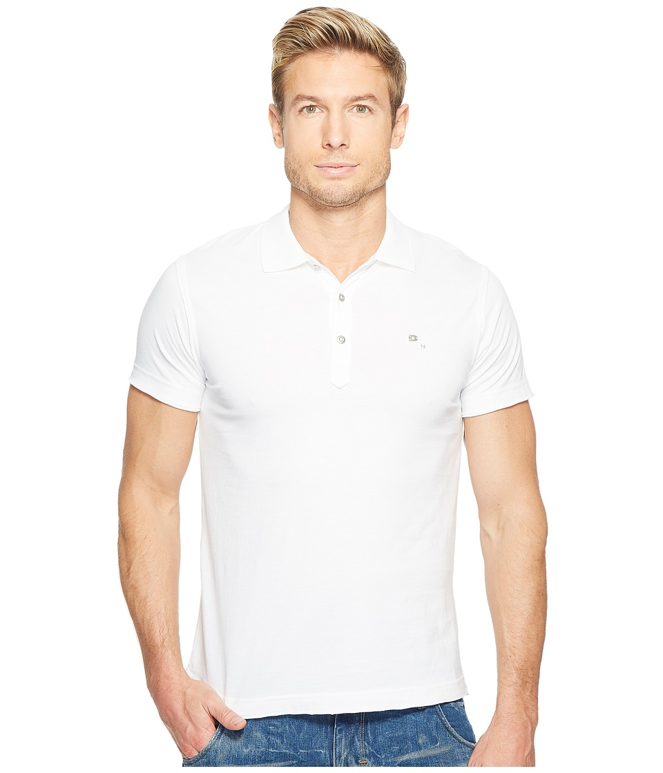 Diesel - T-Larry Shirt (White) Men's Clothing