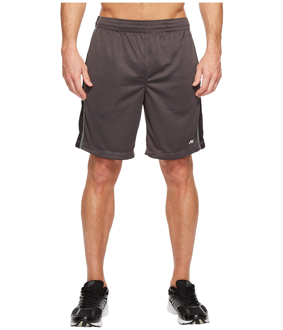 Fila - Sidewalk Shorts (Nine Iron/Black/High-Rise) Men's Shorts