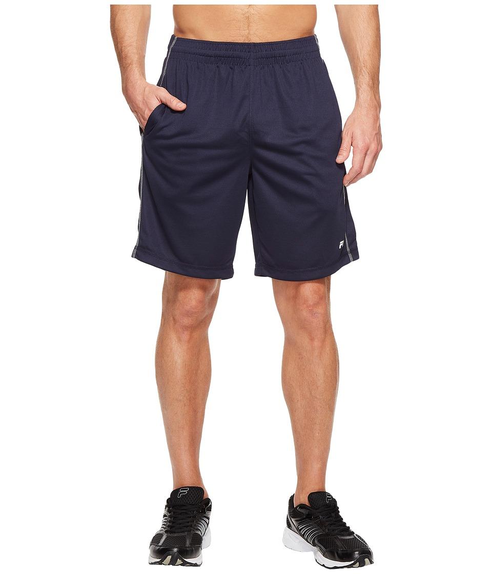 Fila - Sidewalk Shorts (Navy/Navy/High-Rise) Men's Shorts