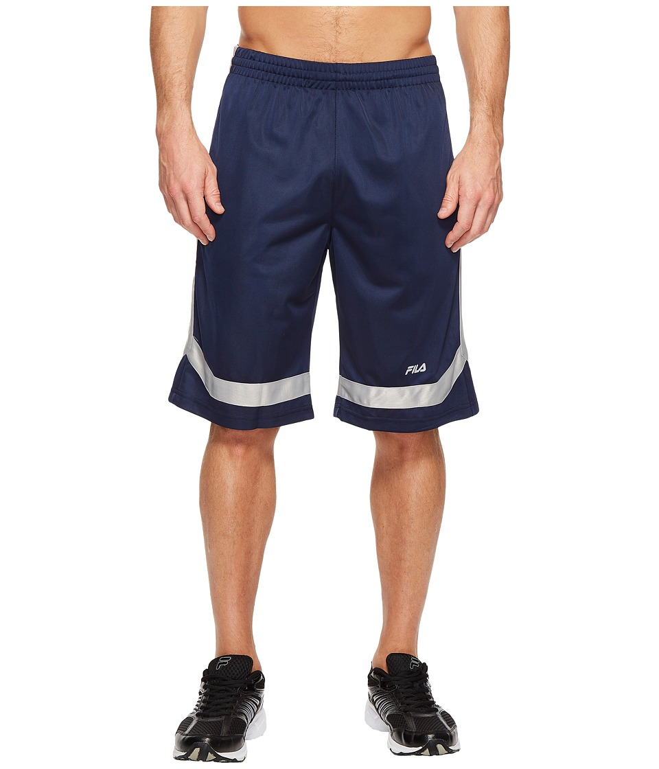 Fila Circuit Shorts (Navy/High-Rise) Men