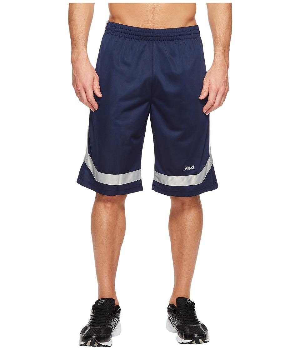 Fila - Circuit Shorts (Navy/High-Rise) Men's Shorts
