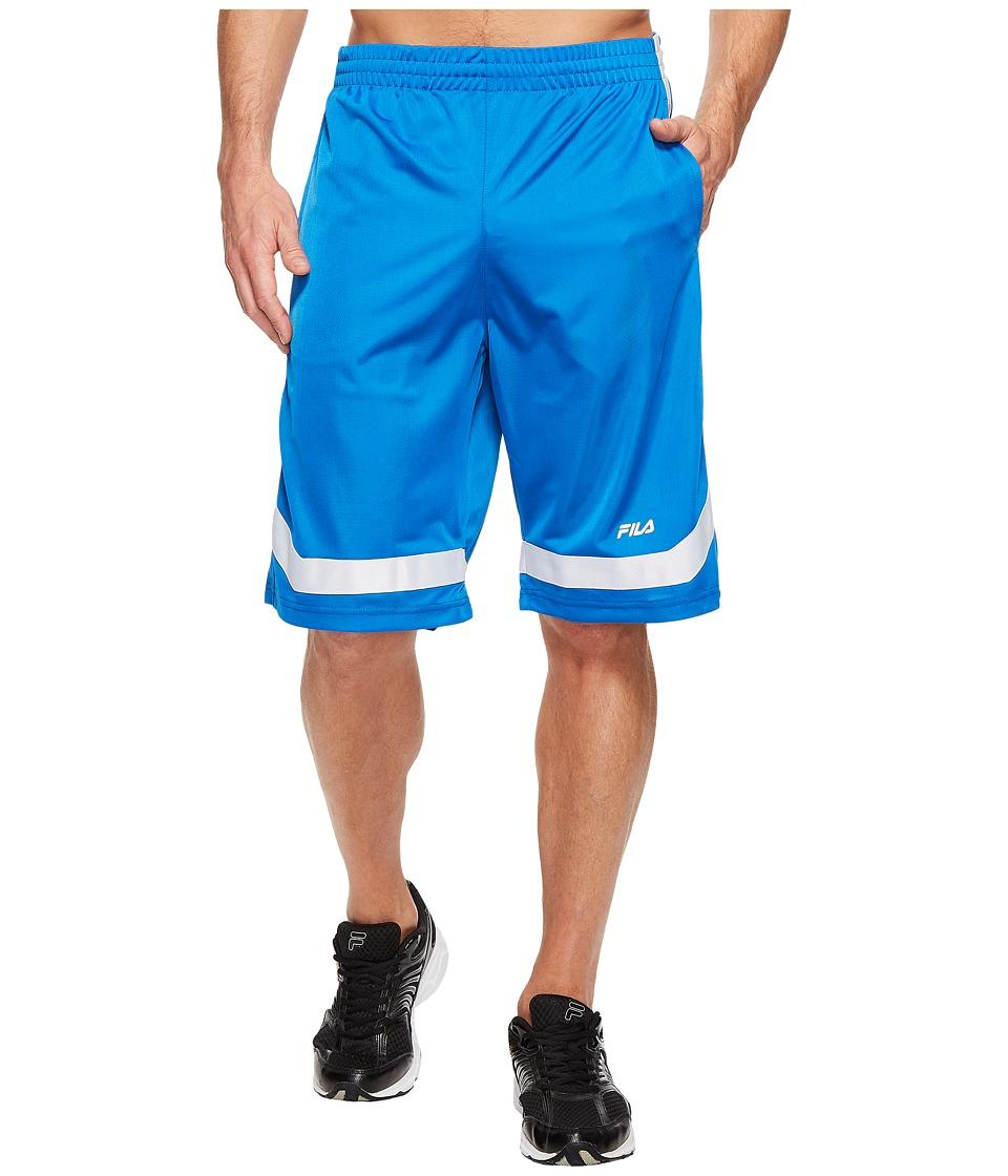 Fila - Circuit Shorts (Prince Blue/White) Men's Shorts
