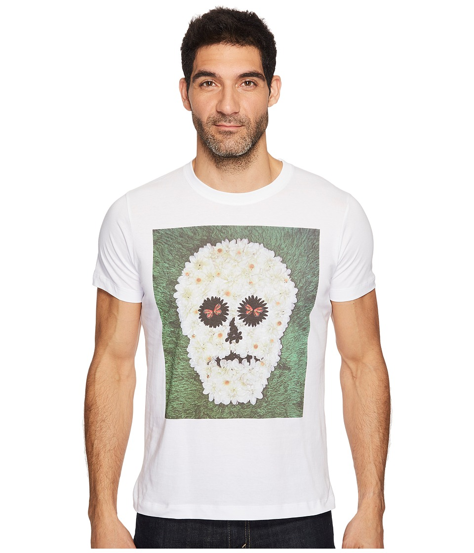 Diesel - T-Joe-QM T-Shirt (White) Men's T Shirt