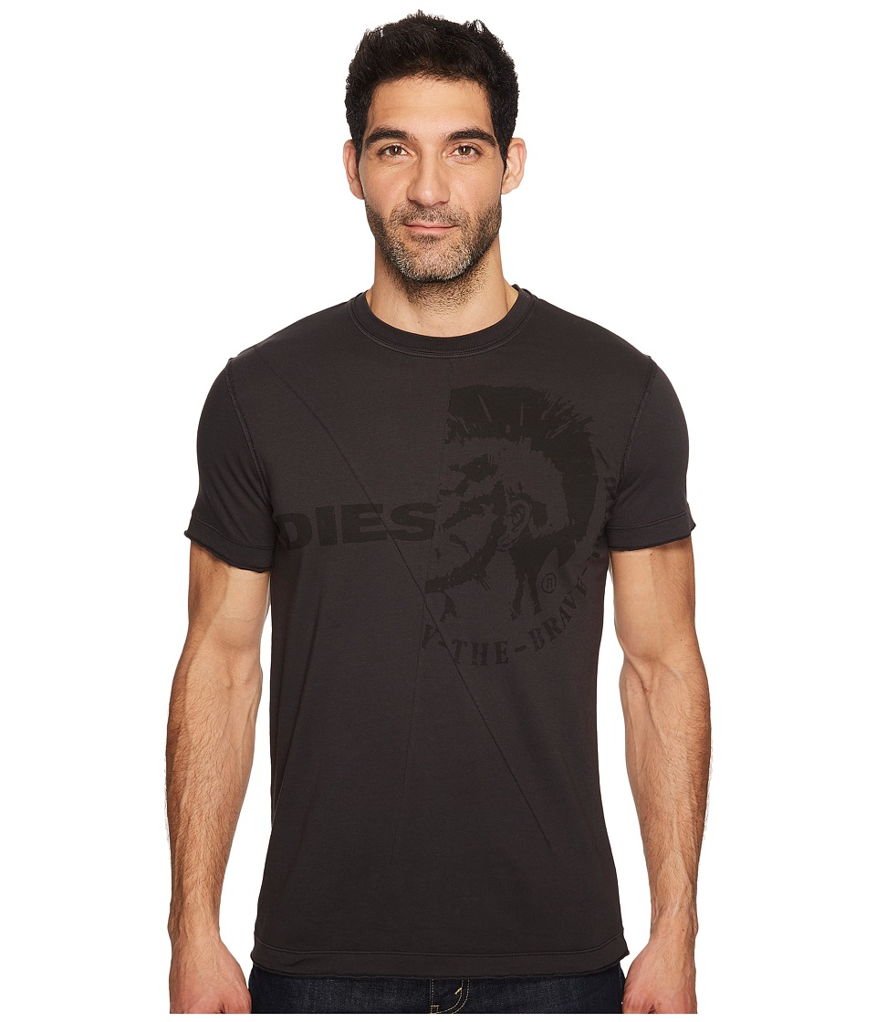 Diesel - T-Ulee T-Shirt (Black) Men's T Shirt