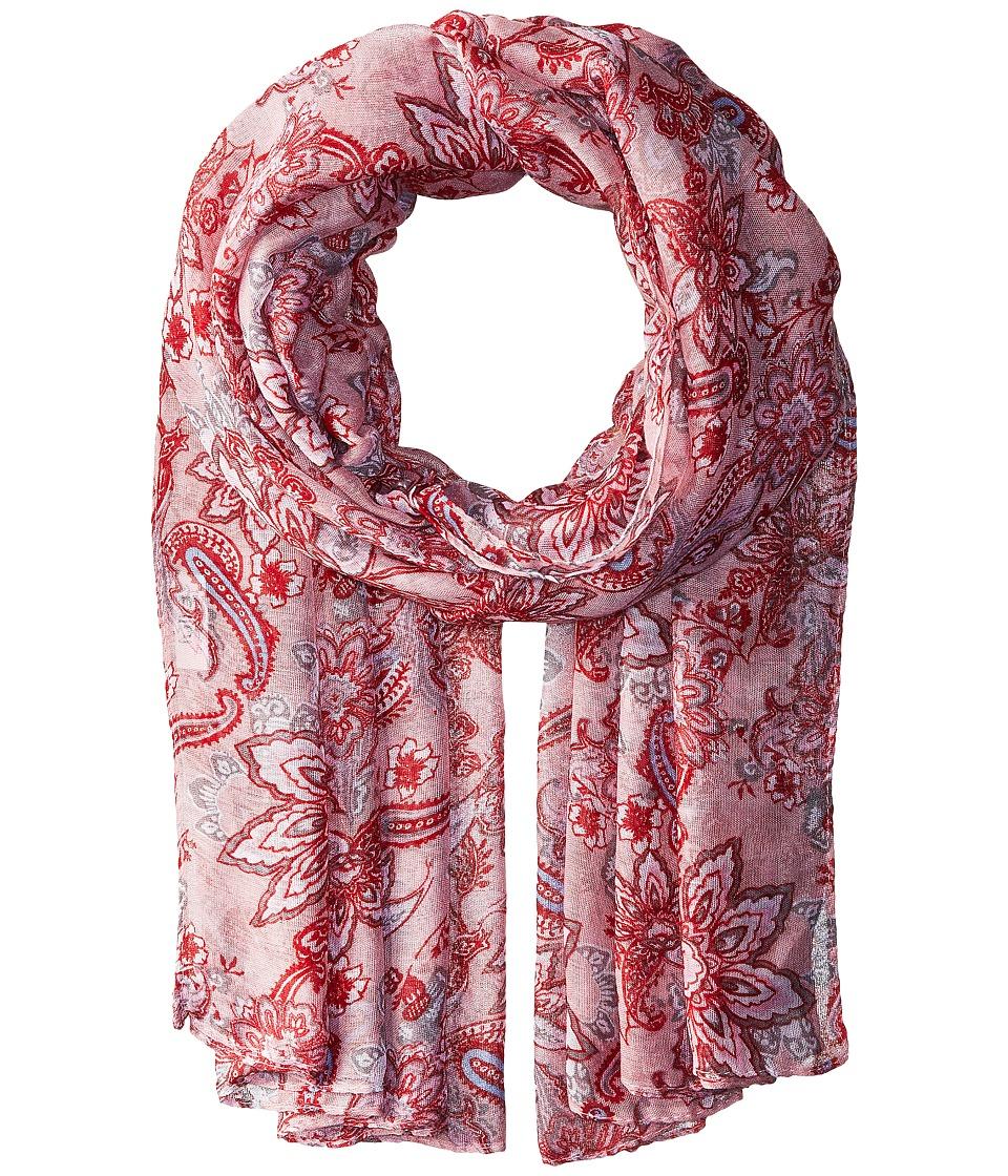 Bindya - Paisley Scarf (Pink) Scarves