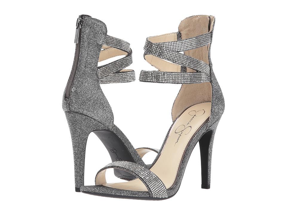 Jessica Simpson Elepina (Pewter Multi Glitter Gabor) High Heels
