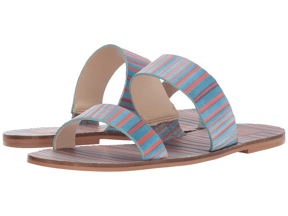Dolce Vita - Jaz (Blue Leather) Women's Sandals