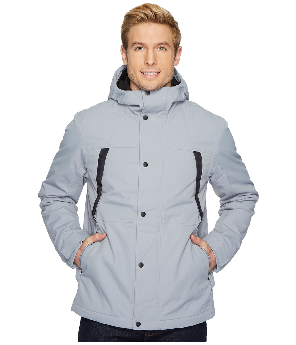 The North Face Stetler Insulated Rain Jacket (Mid Grey) Men