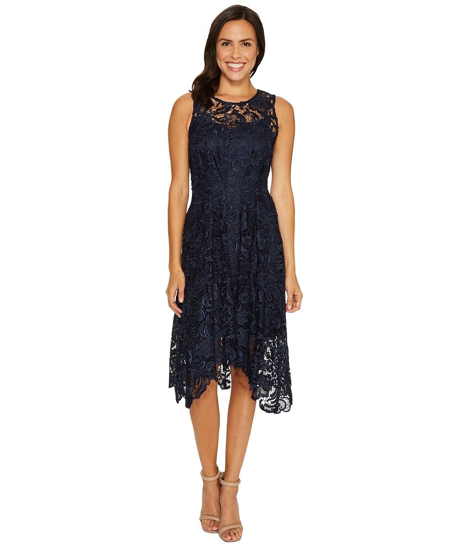 Eva by Eva Franco - Samantha Dress (Navy) Women's Dress