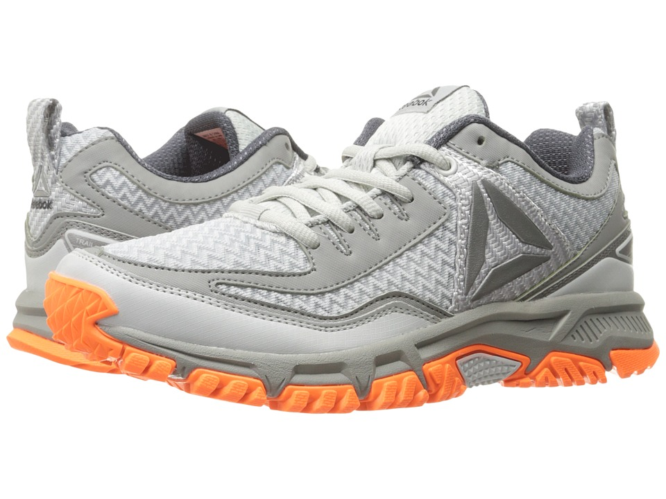 Reebok - Ridgerider Trail 2.0 (Skull Grey/Flat Grey/Wild Orange/Ash Grey) Men's Walking Shoes