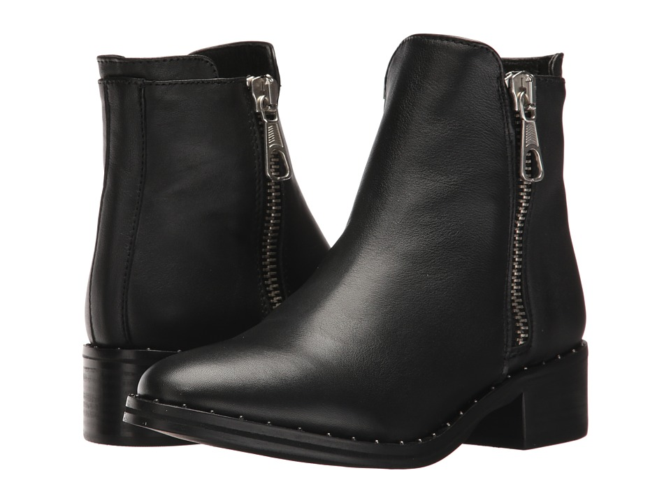Steve Madden Lanna-S (Black Leather) Women
