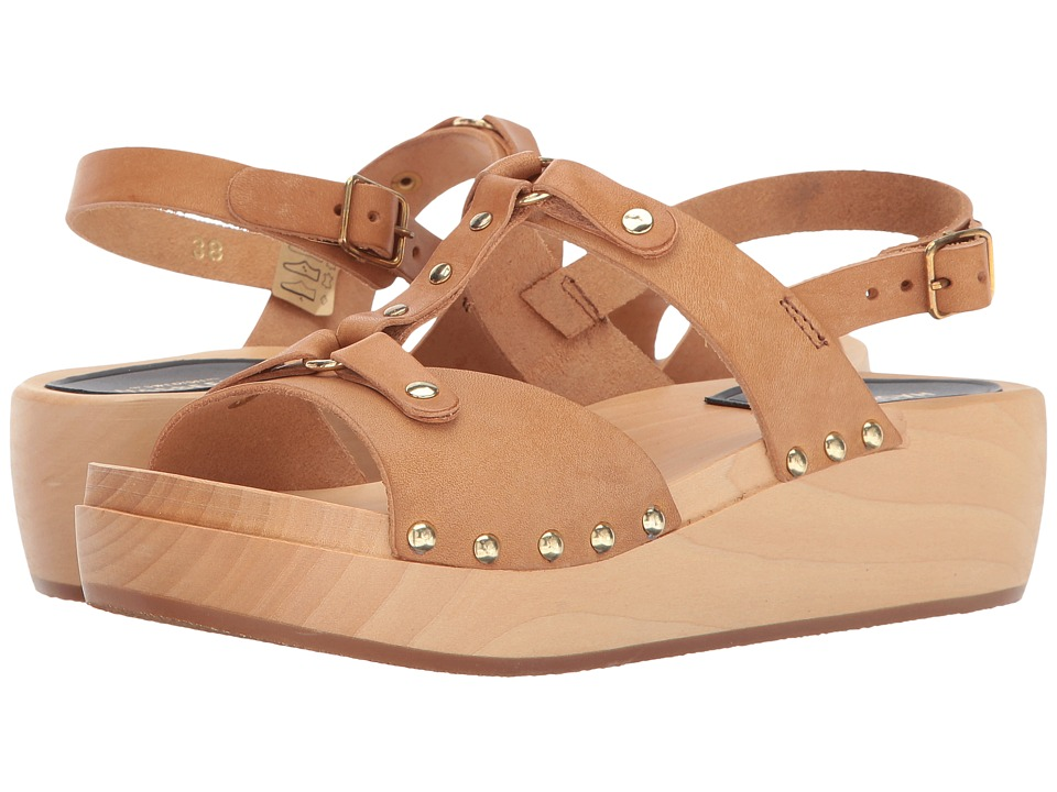 Swedish Hasbeens - Rivet Sandal (Nature) Women's Shoes