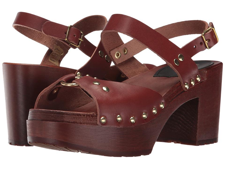 Swedish Hasbeens - Lisa (Cognac/Cognac) High Heels