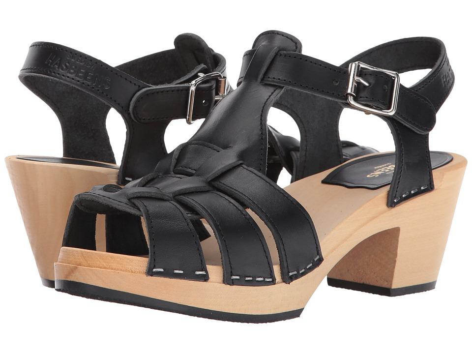 Swedish Hasbeens - Grunge High (Black) High Heels
