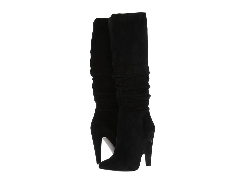 Steve Madden Carrie (Black Suede) Women