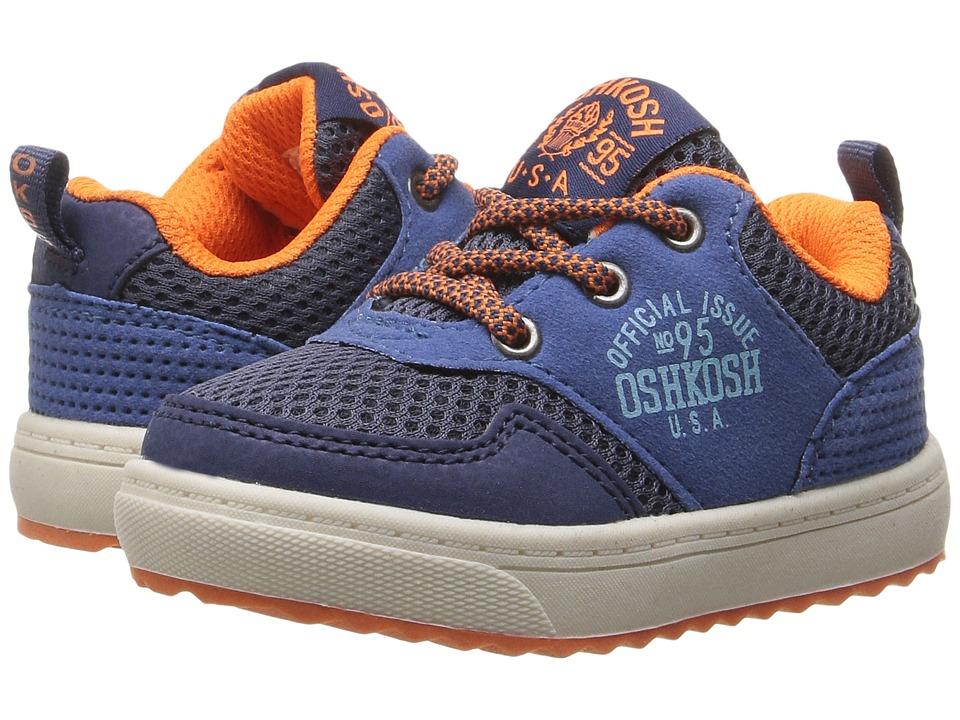 OshKosh - Baxter-B (Toddler/Little Kid) (Blue/Orange) Boy's Shoes