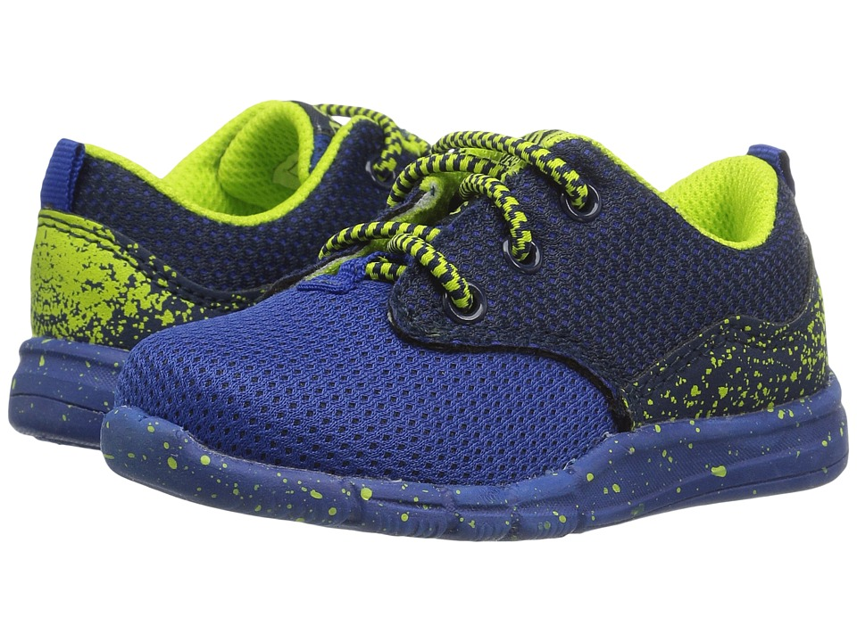 OshKosh - Archie-B (Toddler/Little Kid) (Blue/Neon) Boy's Shoes