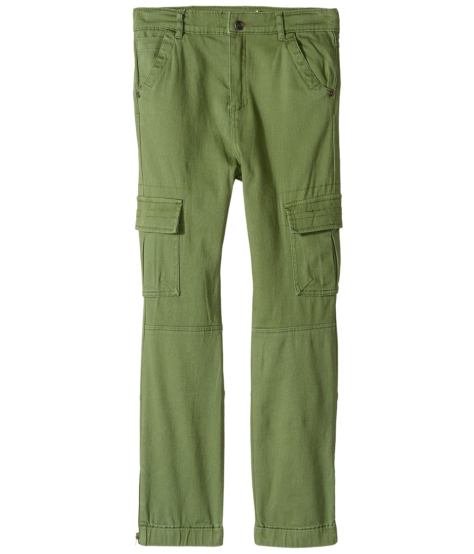 Appaman Kids - Soft Skinny Cargo York Pants (Toddler/Little Kids/Big Kids) (Cedar Green) Boy's Casual Pants