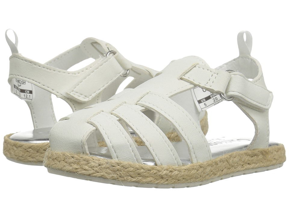 OshKosh - Ashby-G (Toddler/Little Kid) (White) Girl's Shoes