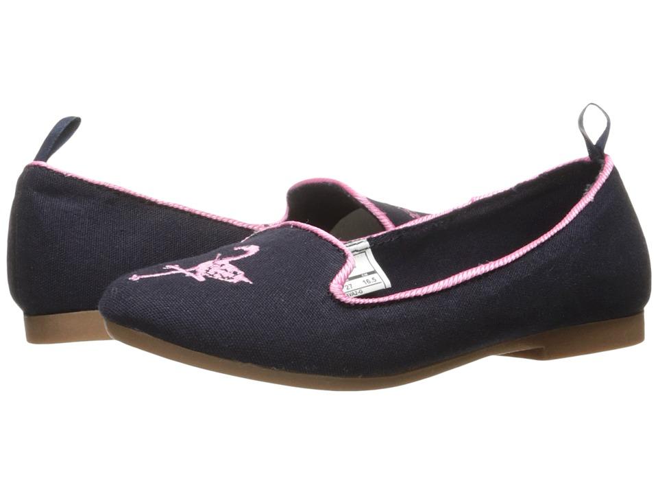 OshKosh - Ava 2-G (Toddler/Little Kid) (Navy) Girl's Shoes