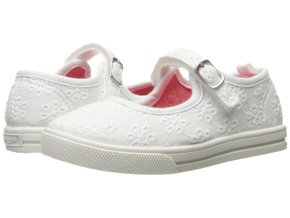 OshKosh - Lola 6-G (Toddler/Little Kid) (White) Girl's Shoes