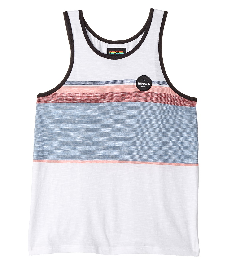 Rip Curl Kids - All Time Tank Top (Big Kids) (Off-White) Boy's Sleeveless